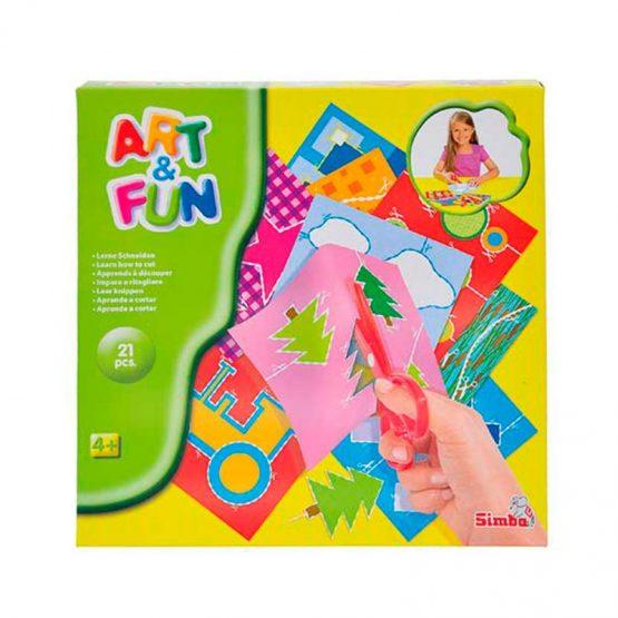 Art&Fun aprenons a decouper