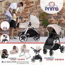 POUSSETTE PRIMA TRIO Confort