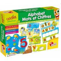 Carotina Alphabet, Mots et Chiffres