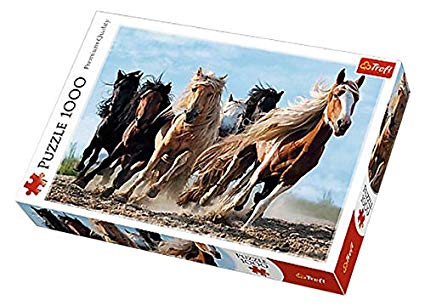 Galopping Horses Puzzle (1000-Piece)