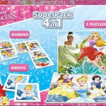 Superpack 4en1 princesse
