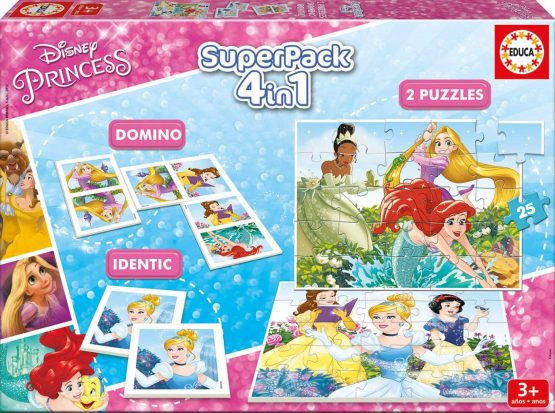 Superpack 4en1 princesse