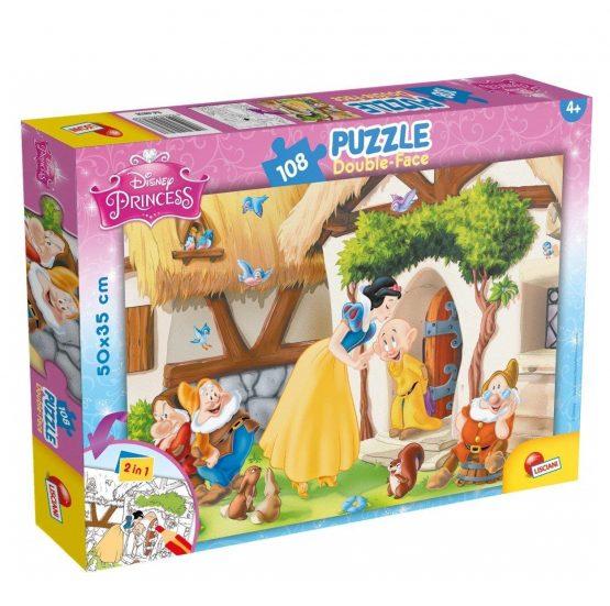 Puzzle Blanche Neige Double Face 108 Pièces