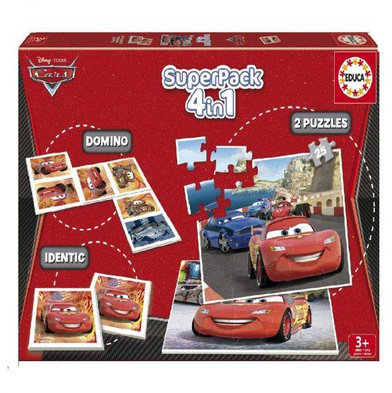 Superpack 4en1  Cars