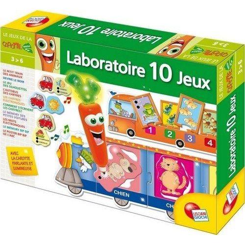 Laboratoire 10 jeux