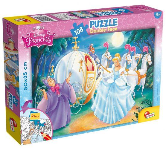 Puzzle Cendrillon Double Face 108 pièces