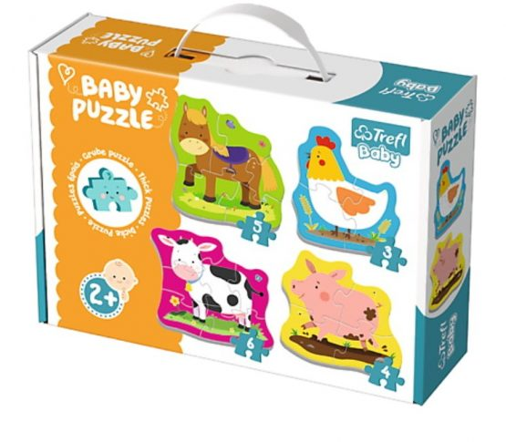 4 Baby Puzzles animaux