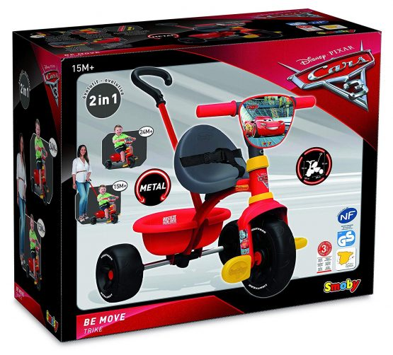 Tricycle Be Fun Cars 3