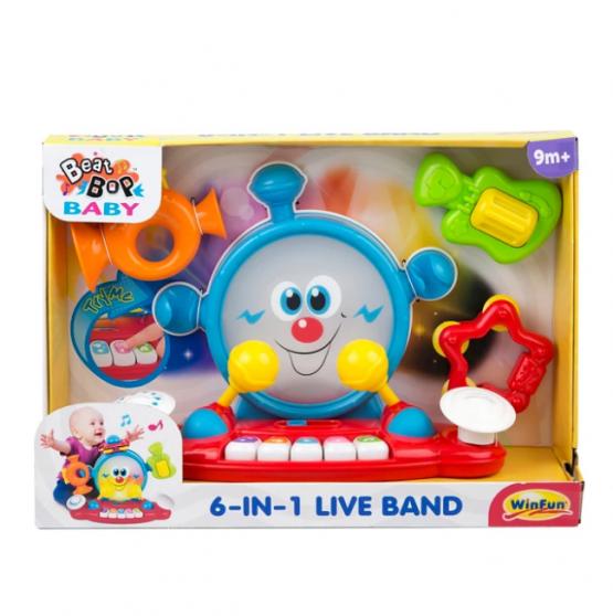 Live Band 6 en 1