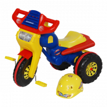 TRICYCLE GALAXY AVEC CASQUE