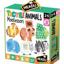 Tactiles animals Montessori