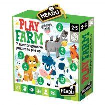 Farm  Progressive Puzzle
