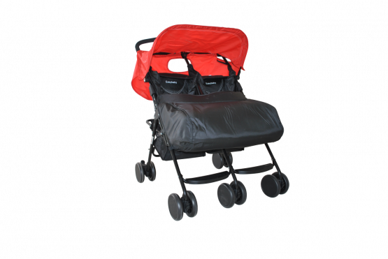 Poussette twin stroller