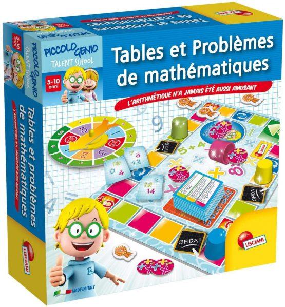 Tables Et Problemes De Mathematiques
