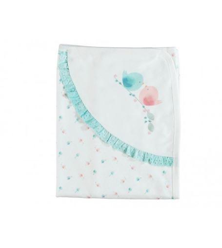 couverture cotton 85X90 Cm