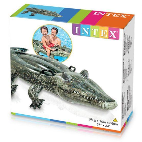 Alligator gonflable