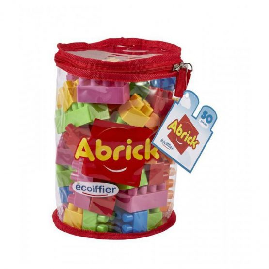 SAC TUBE ABRICK 50 PCS rouge