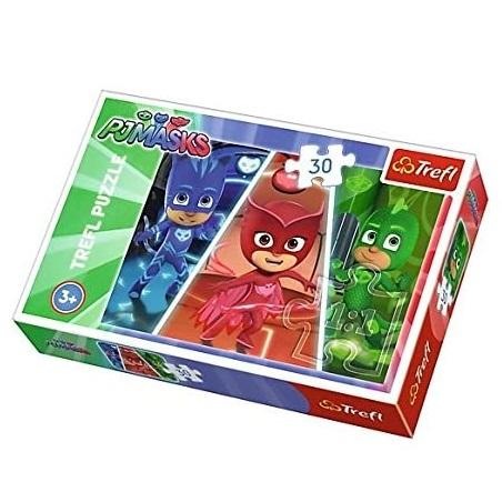 Puzzle 30 pièces Pj masks