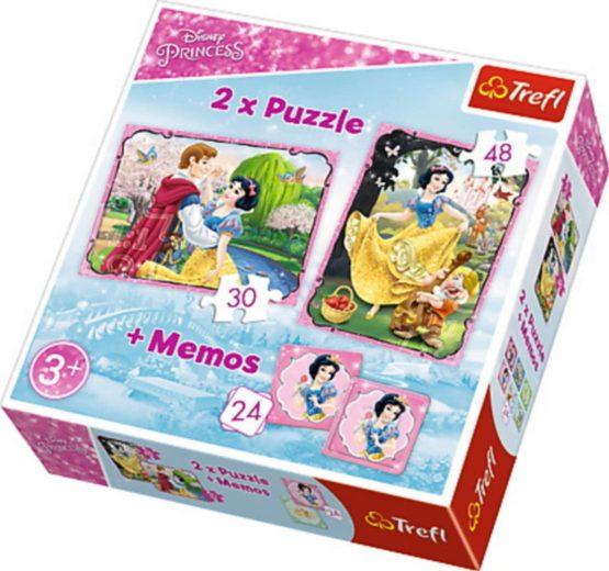Princesse Puzzle 2 en 1 et Mémos