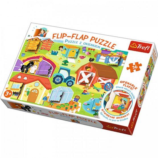 Flip Flap Puzzle – Ferme