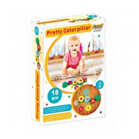 jeux de forme Pretty Caterpillar