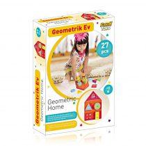 jeux de forme Maison géométrique