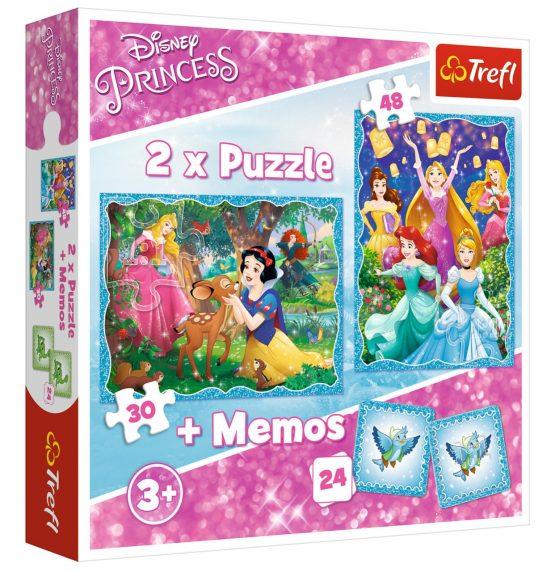 2 Puzzles + Memo Princess
