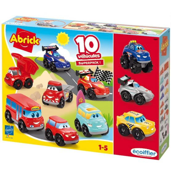 Coffret 10 véhicules Fast Cars