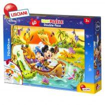 Lisciani Giochi Disney - Детски двулицев Макси пъзел 60ч. Мики Маус 48205