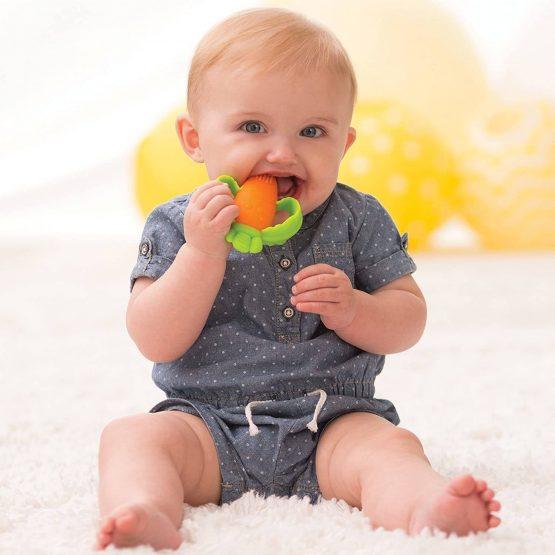 Hochet carotte de dentition