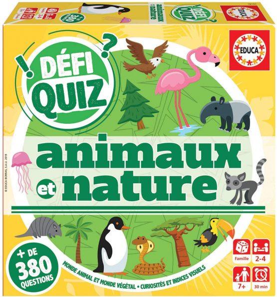 Quiz-Animaux Et Nature