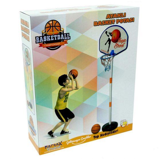 panneau basket avec support